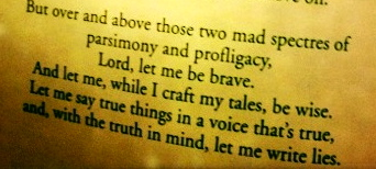 From Neil Gaiman's A Writer's Prayer