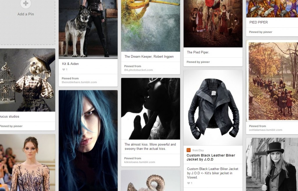 Vowed Pinterest Board