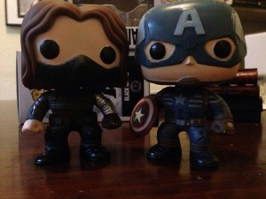 Captain and Bucky