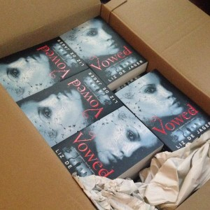 Vowed author copies